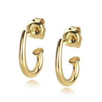 Juno Yellow Drop Stud Earrings