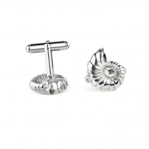 KATA Jewellery - Ammonite Cufflinks