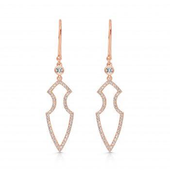 Kali Earrings ~ Adorned Rose Spear