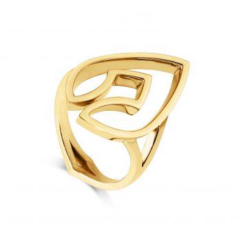 Kali Ring ~ Gold Spear