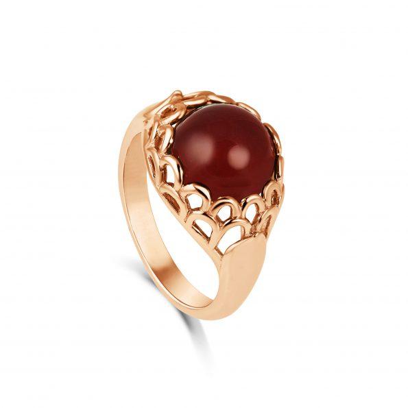 Protea Ring ~ Carnelian