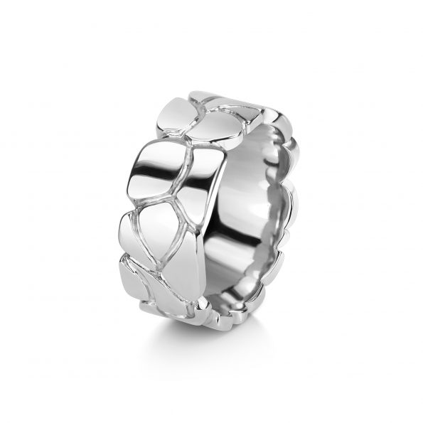 SETH band | Silver or White Gold