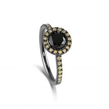 Zorya ~ The Evening Star Ring