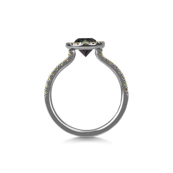 Zorya ~ The Evening Star Ring