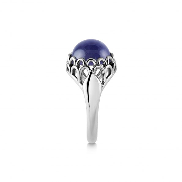 KATA Jewellery - Protea Ring ~ Iolite