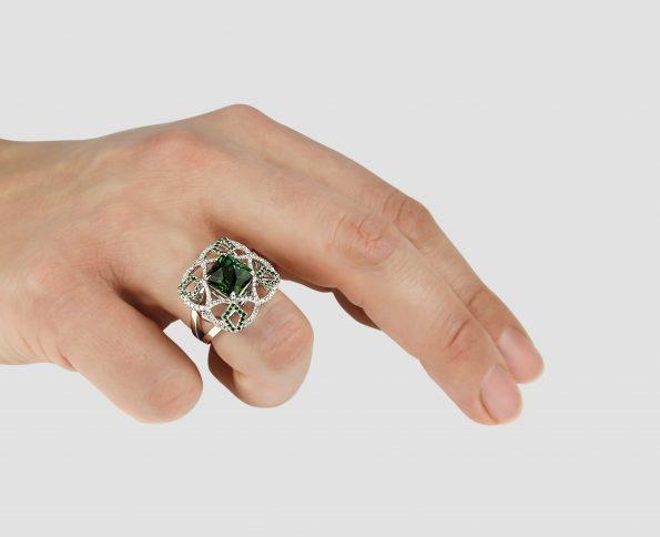 KATA JEWELLERY LTD - POMONA RING ON HAND