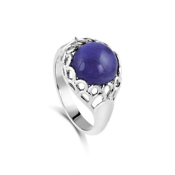 Protea Ring ~ Iolite
