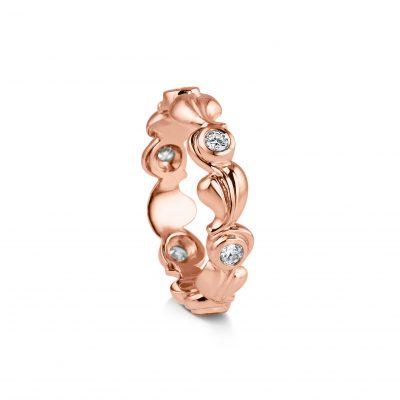 Grace ~ Rose Gold Diamond Ring