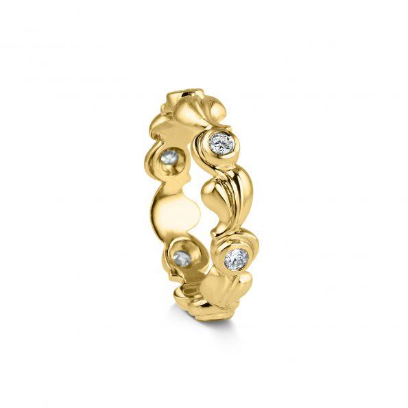 Grace ~ Yellow Gold Diamond Ring