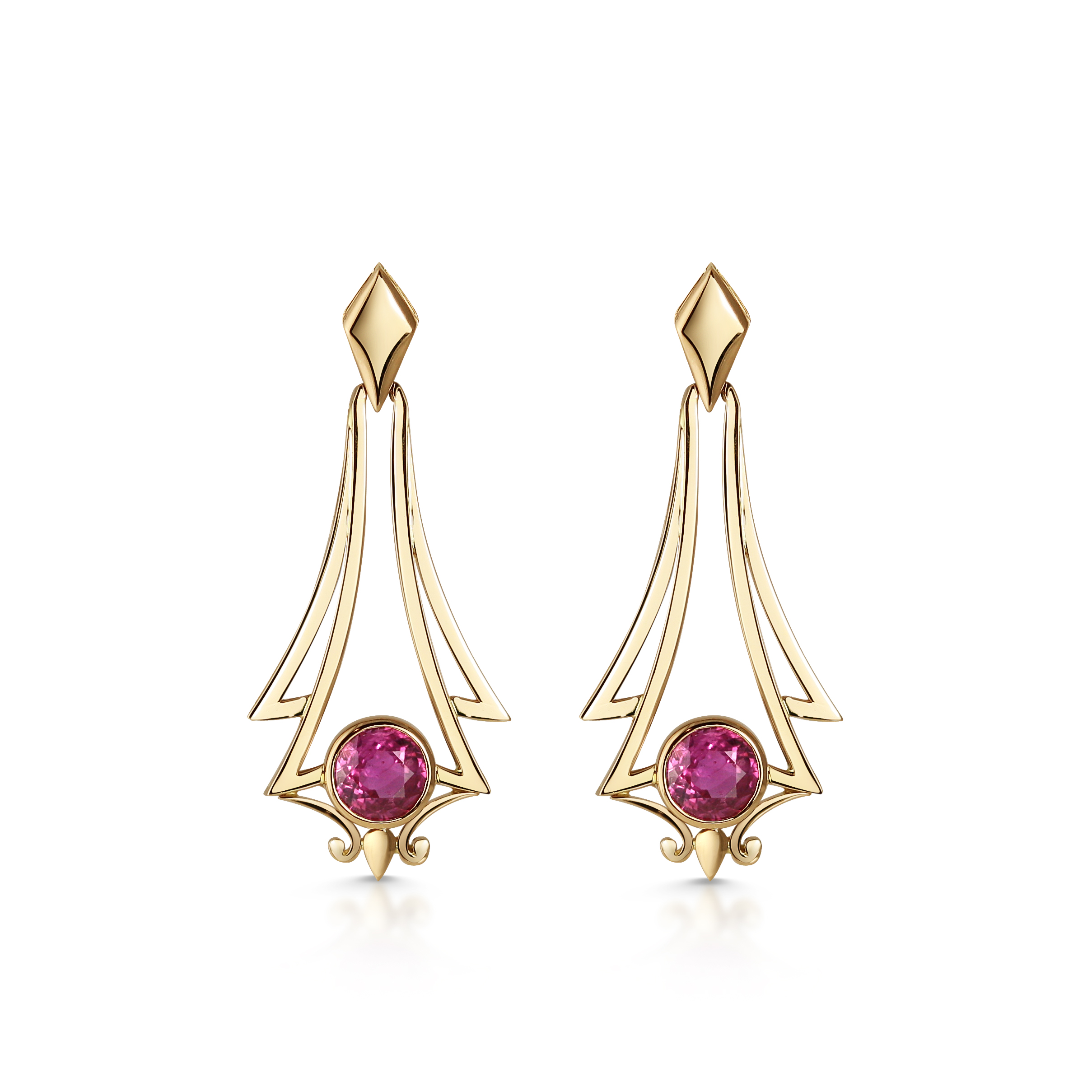 Bespoke Archive ~ Katharina Earrings