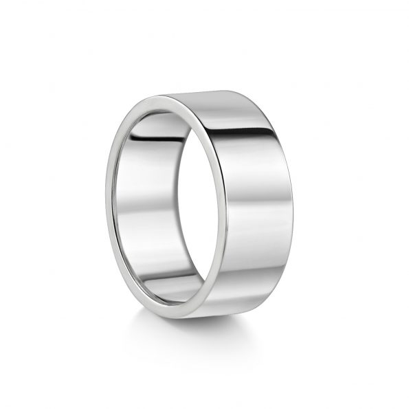 KATA Jewellery - 8mm Flat Wedding Band