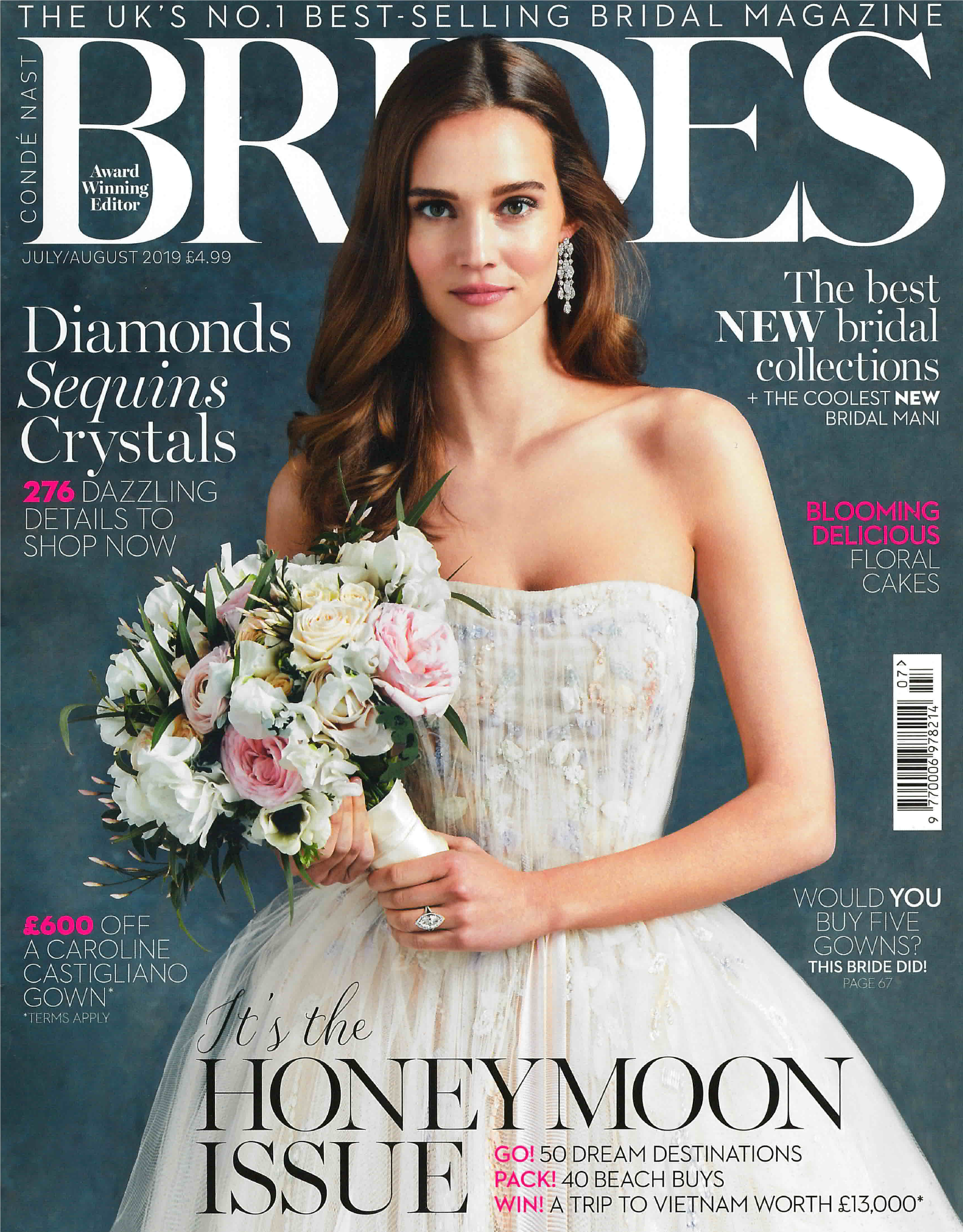 KATA Jewellery – BRIDES – July August Cover 2019
