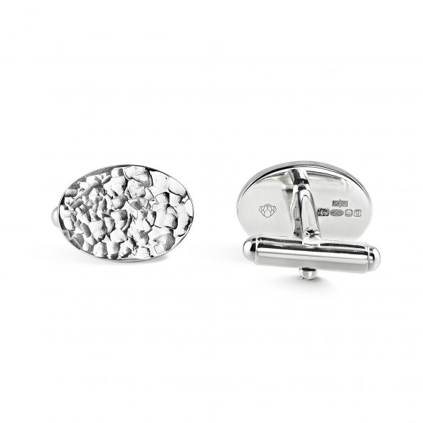 KATA Jewellery - INDRA Cufflinks (Thunder) with swivel back fittings (2)