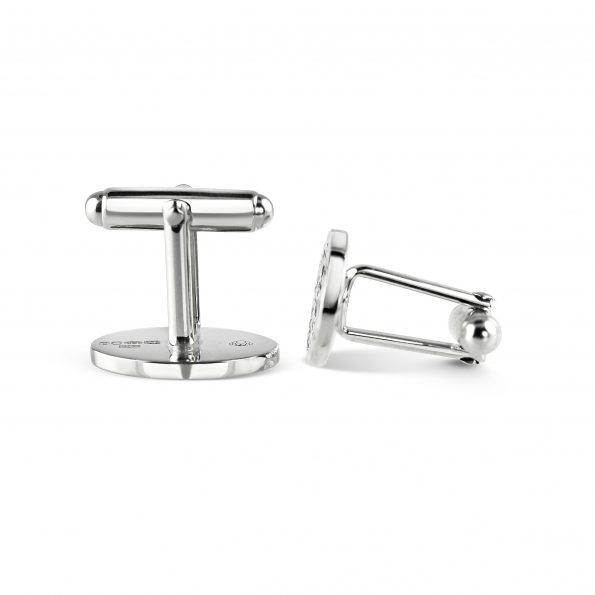 KATA Jewellery - INDRA Cufflinks (Thunder) with swivel back fittings
