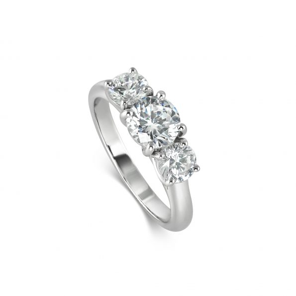 KATA JEWELLERY ~ Enya ~ Diamond Trilogy Engagement Ring (1)