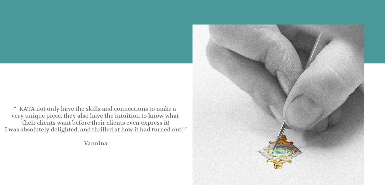 Kata Home Page - Design Drawing Testimony